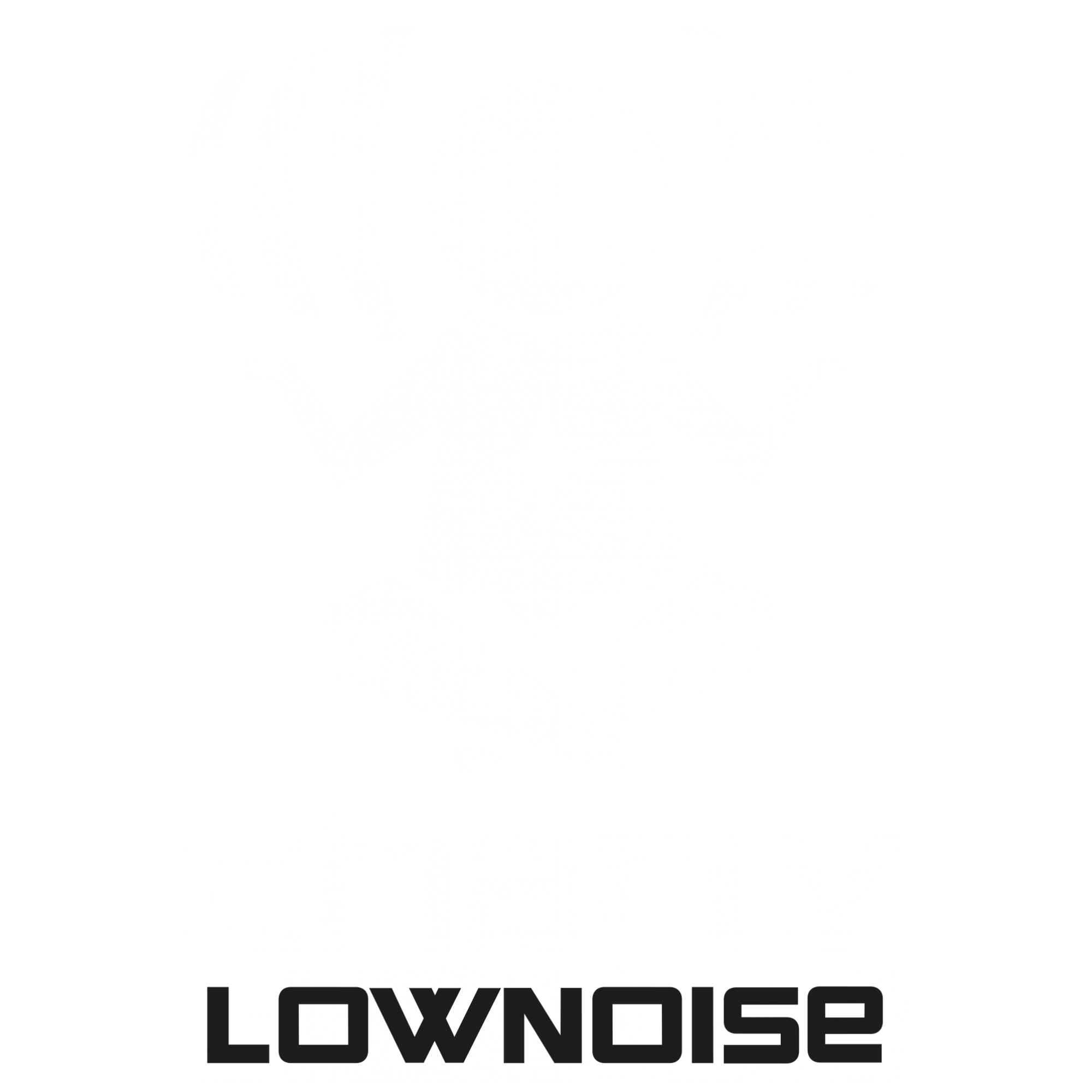 Charly Lownoise logo WHITE